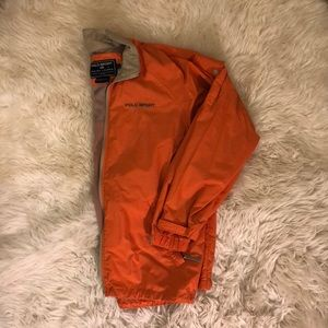 Orange Ralph Lauren Polo Sport Windbreaker EUC